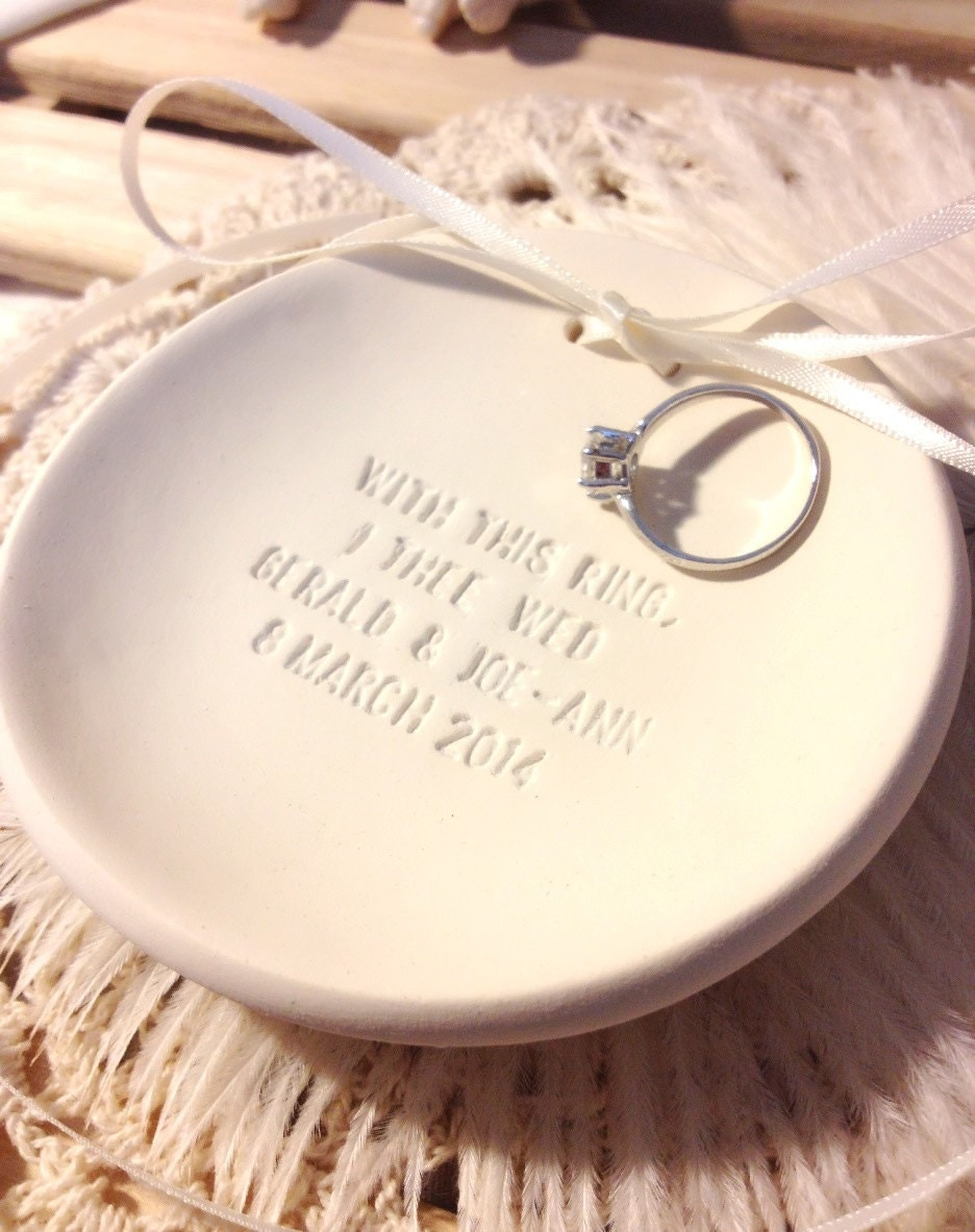 Blog of CupidsAtelier Custom Handmade Wedding Ring Bearer Bowls