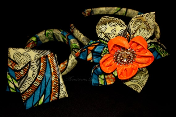 Ankara African print Hairband (matching items available)