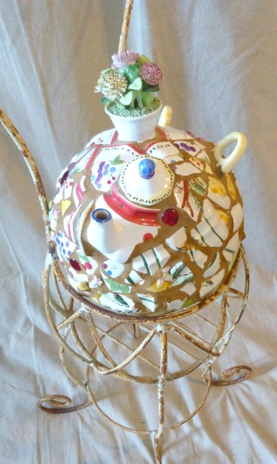 Garden Globe - Mosaic - Custom