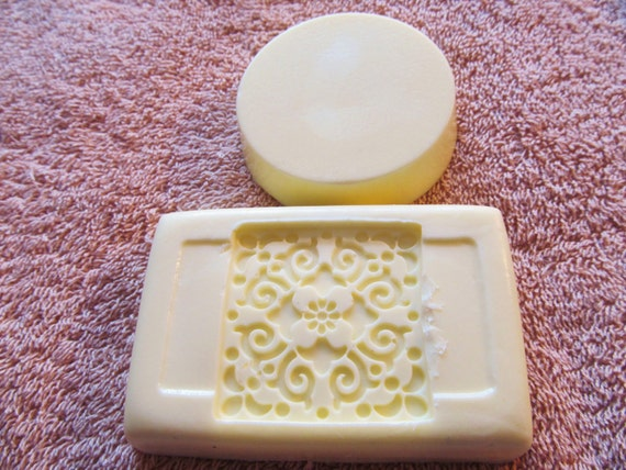 Shea Butter Honey Almond Scented Soap Set of 2