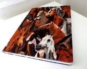 Horse notebook journal.