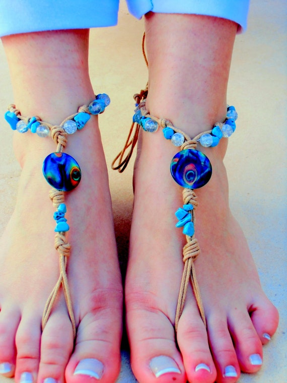 Barefoot sandals. wedding sandals.  boho barefoot sandals, barefoot sandles, crochet barefoot sandals, , yoga, anklet  hippie shoes