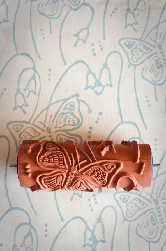 No. 14 Patterned Paint Roller from The Painted House