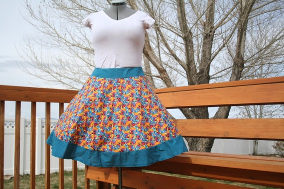 Custom Retro Skirt- Basic