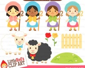 Little Bo Peep from Little Red's Clip Art