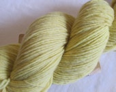 Weld Naturally Plant Dyed Merino Wool Yarn - Fingering Weight - 420 yards - M-16 - EscapeToEvermore