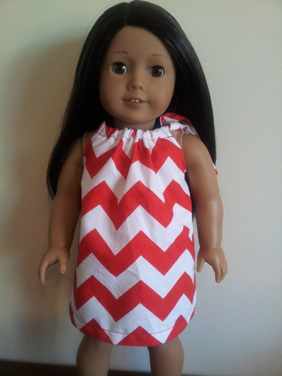 Pillowcase Dress for 18 inch dolls such as American Girl, Our Generation