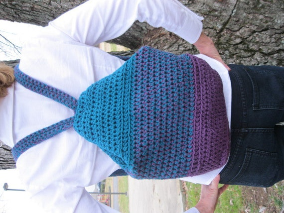 Knockabout Backpack - crochet pattern