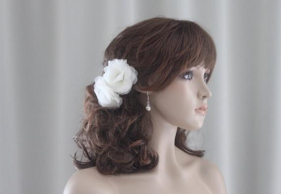 is a flower hair clip seasonal? :  wedding Il 570xN.417600030 Iamv Bridal Hair Flower-Birdcage Veil Flower Fascinator-Bridal Flower Hair Clip-Bridal Flower Hair Pin-hf04