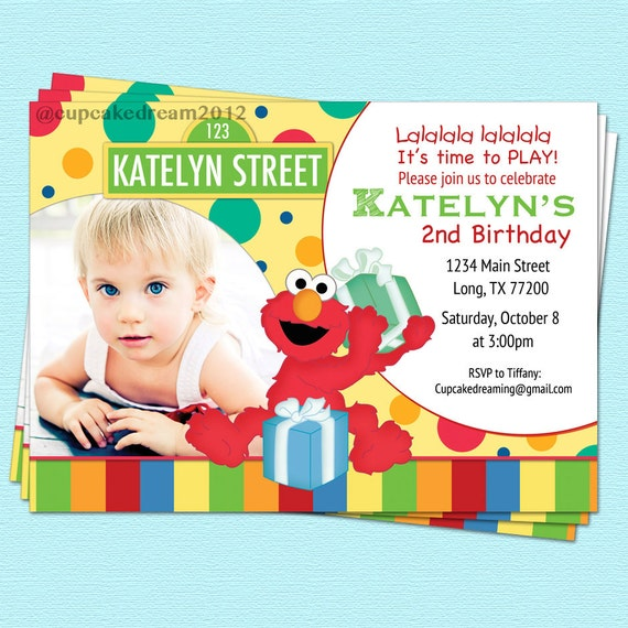 Party Inspiration Board Sesame Street Invitations