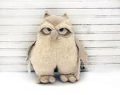 owl,owl decor, handmade owl, Home Decor , Ornament owl ,forest, woodland, home decor, burlap, burlap decor, rustic country, style home, - AnnaDesigner