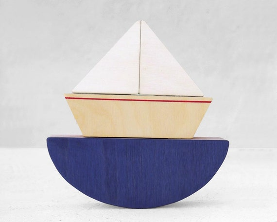 Handmade Little Boat Toy