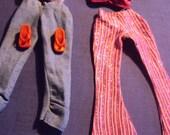 SALE Set of 2 Barbie pants shirts and sandals