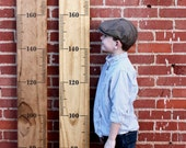 METRIC Growth Chart Ruler - Alternating Style - DIY Vinyl Decal