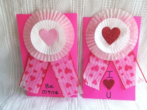 Valentine's Day Cards Set of 2