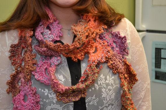 Free Crochet Pattern Queen Anne Lace Scarf : Life of a College Blogger: Free Crochet Pattern- Queen ...