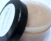 Pink Sugar Woods Body Scrub Polish,Silk Amino Acids, 6 oz. Gentle Exfoliant,Essential Oil,Fragrance