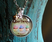Vintage French Cupcake Necklace 1