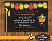 Backyard BBQ Invitation - Item 0123