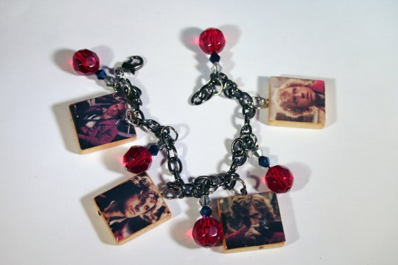 Les Miserables Enjolras Charm Bracelet