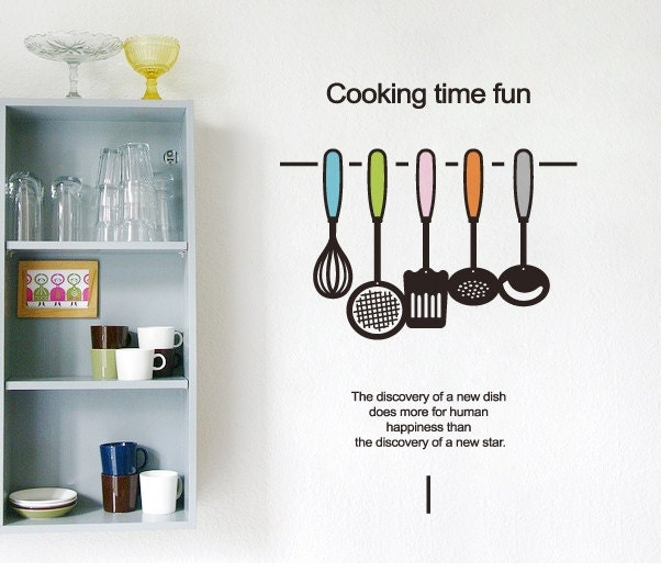 Italian Kitchen Wall Decals Quotes | afreakatheart