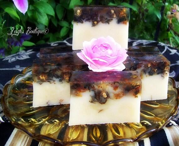 Adam and Eve Love Spell Herbal Quintet Butter Goats Milk Soap 6 oz. Bar