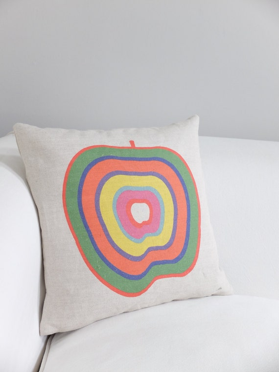Funky Apple Cushion Cover