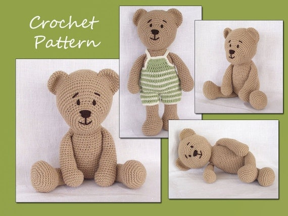 Amigurumi Pattern Crochet, Amigurumi Bear, Teddy Bear Crochet Pattern, Animal Crochet Pattern