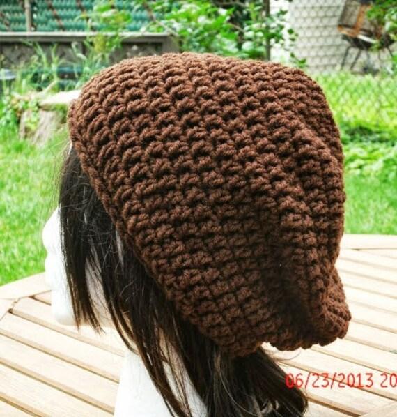 CIJ 10% off Crocheted Hat - The Eden Cap in Brown