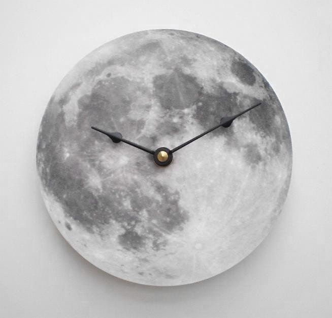 Full Moon Clock - CyberMoon
