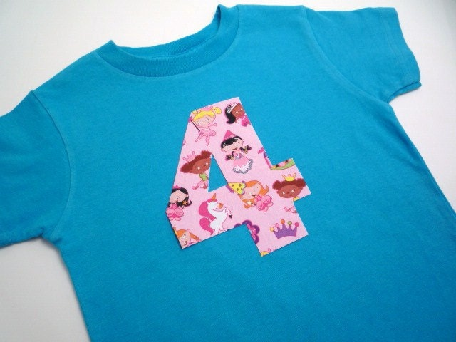 Lilikoi Lane Lil Princess Birthday Shirt<br>You pick number, size & color