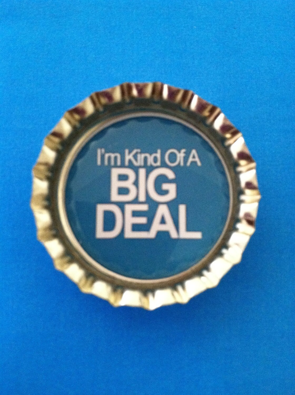 Funny I'm Kind of a Big Deal COLORED Magnet - home decor magnet