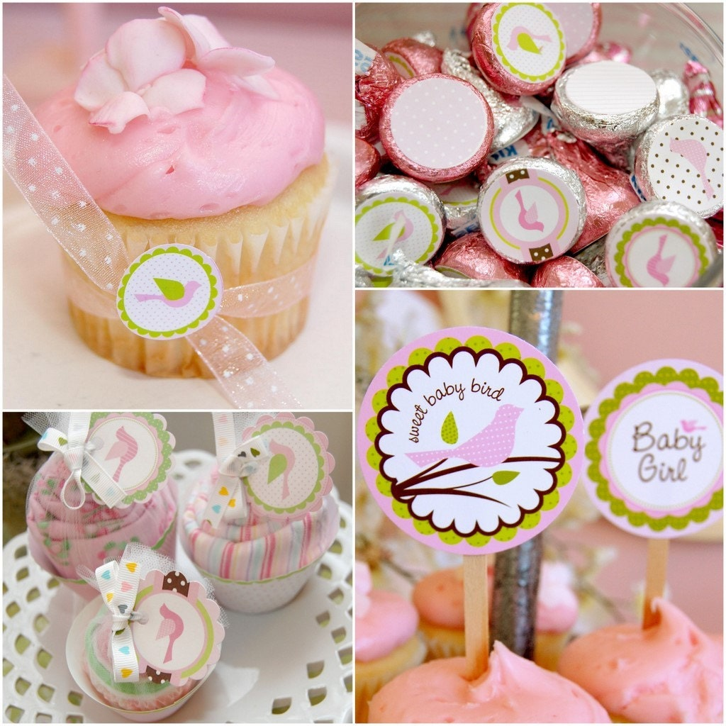 Little Birdie Baby Shower Printable Party Pack - DIY