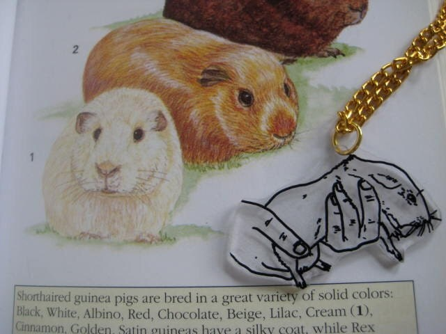 Guinea Pig Friend Necklace
