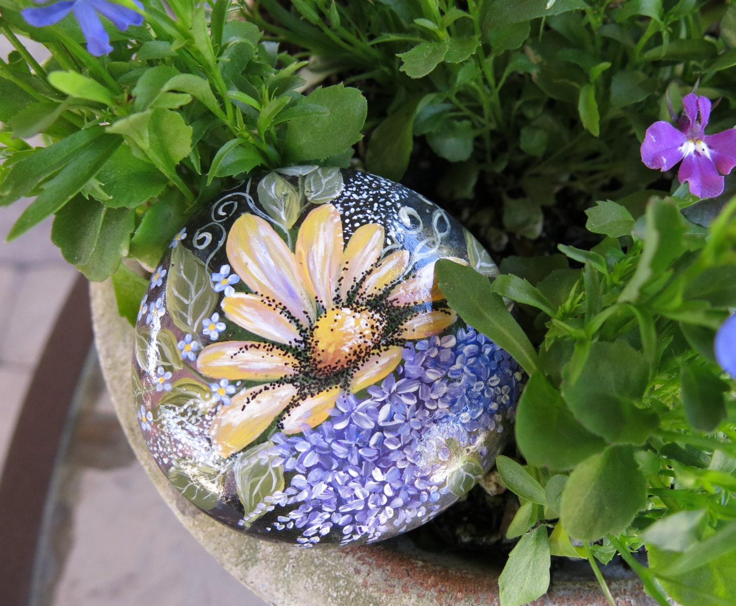 Popular items for rock garden decor on Etsy