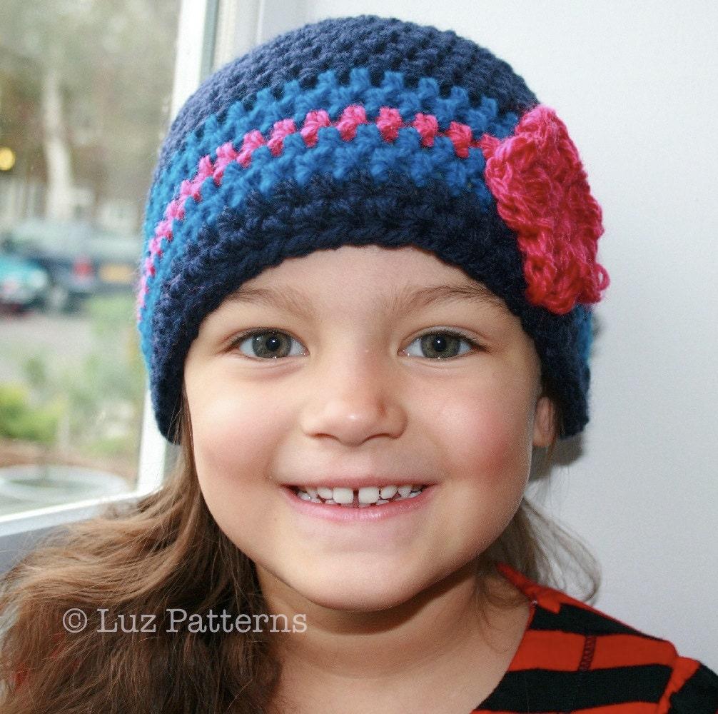 Cuffed Cutie Hat Crochet Pattern | Red Heart