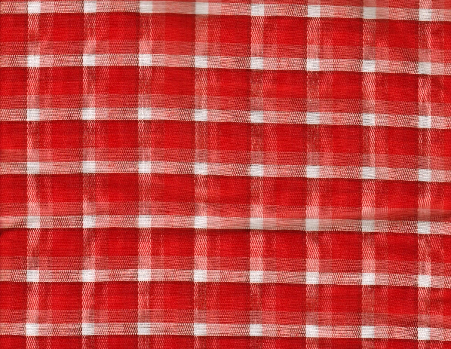 SWEET Holiday PLAID Fabric - ONE Yard - tumblebumbleandbee