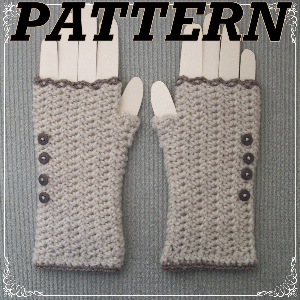 Crochet Fingerless Free Mittens Pattern Free Patterns ...