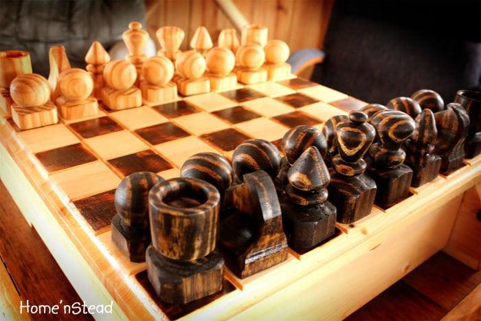 amazing wooden chess ile ilgili görsel sonucu