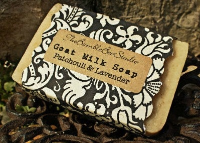 Artisan Goat Milk Soap ....... Lavender and Patchouli