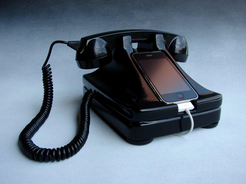 iRetrofone -  iPhone phone docks