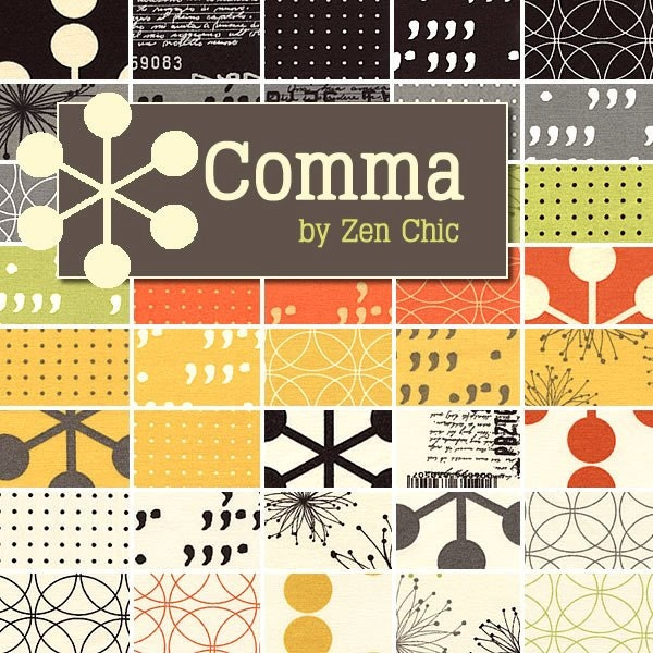 Comma by Zen Chic - 40 Fat Quarter Bundle