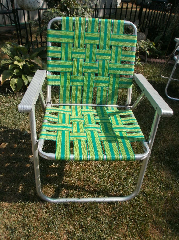 Vintage lawn chair webbing for Lawn chair webbing