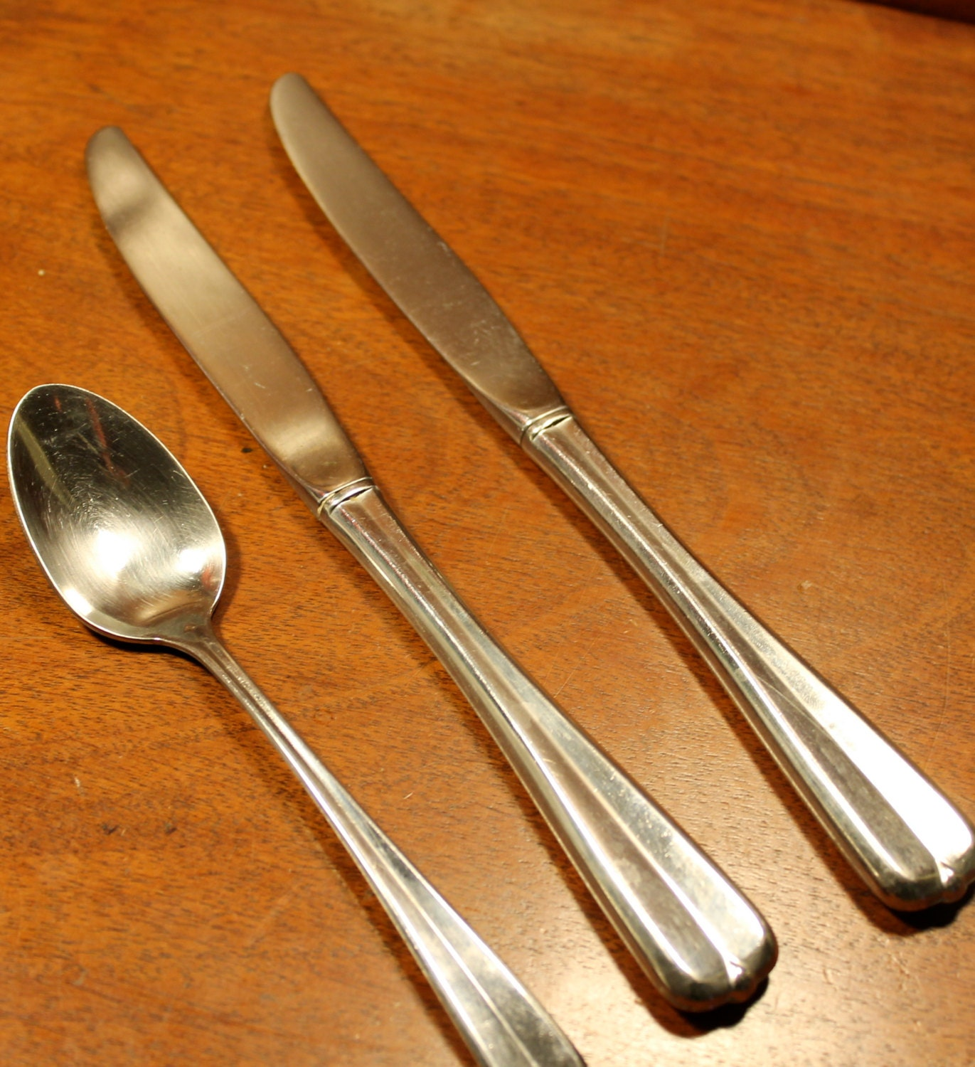 Oneida Vintage silverware in Impulse Pattern Gala by AtomicHoliday