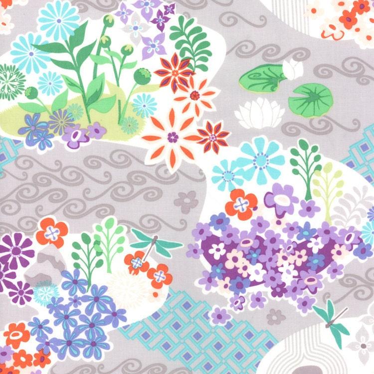 Good Fortune Zen 27100 19 Quilt Fabric - 1 Yard Yd BTY