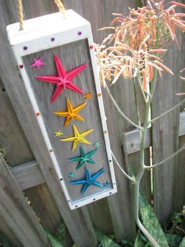 Rainbow Starfish Box - SnowBearProductions