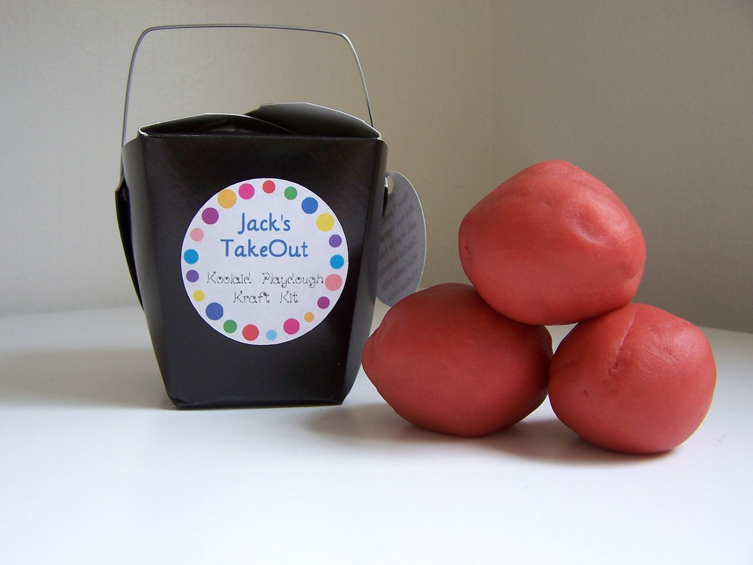 Craft Kit For Boys - Everything You Need To Make A Batch of All Natural Kool Aid Play Dough - You Choose The Color