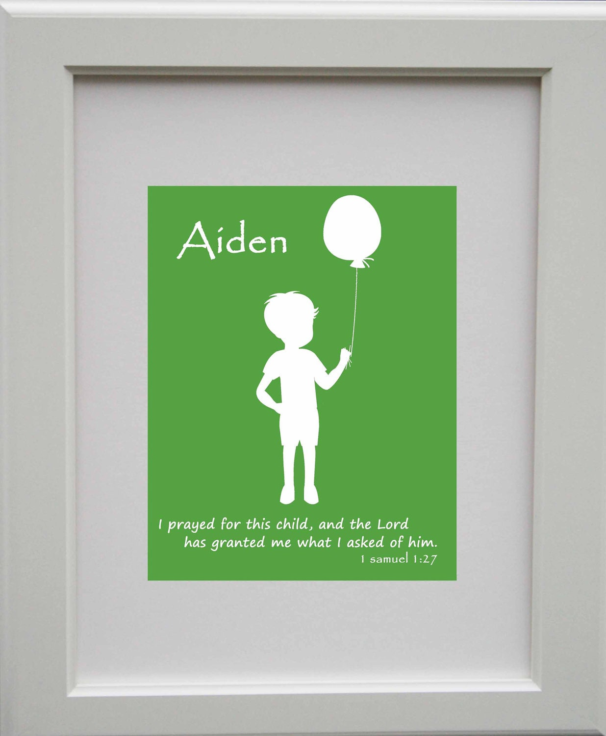 Personalized Name Print - I Prayed for This Child