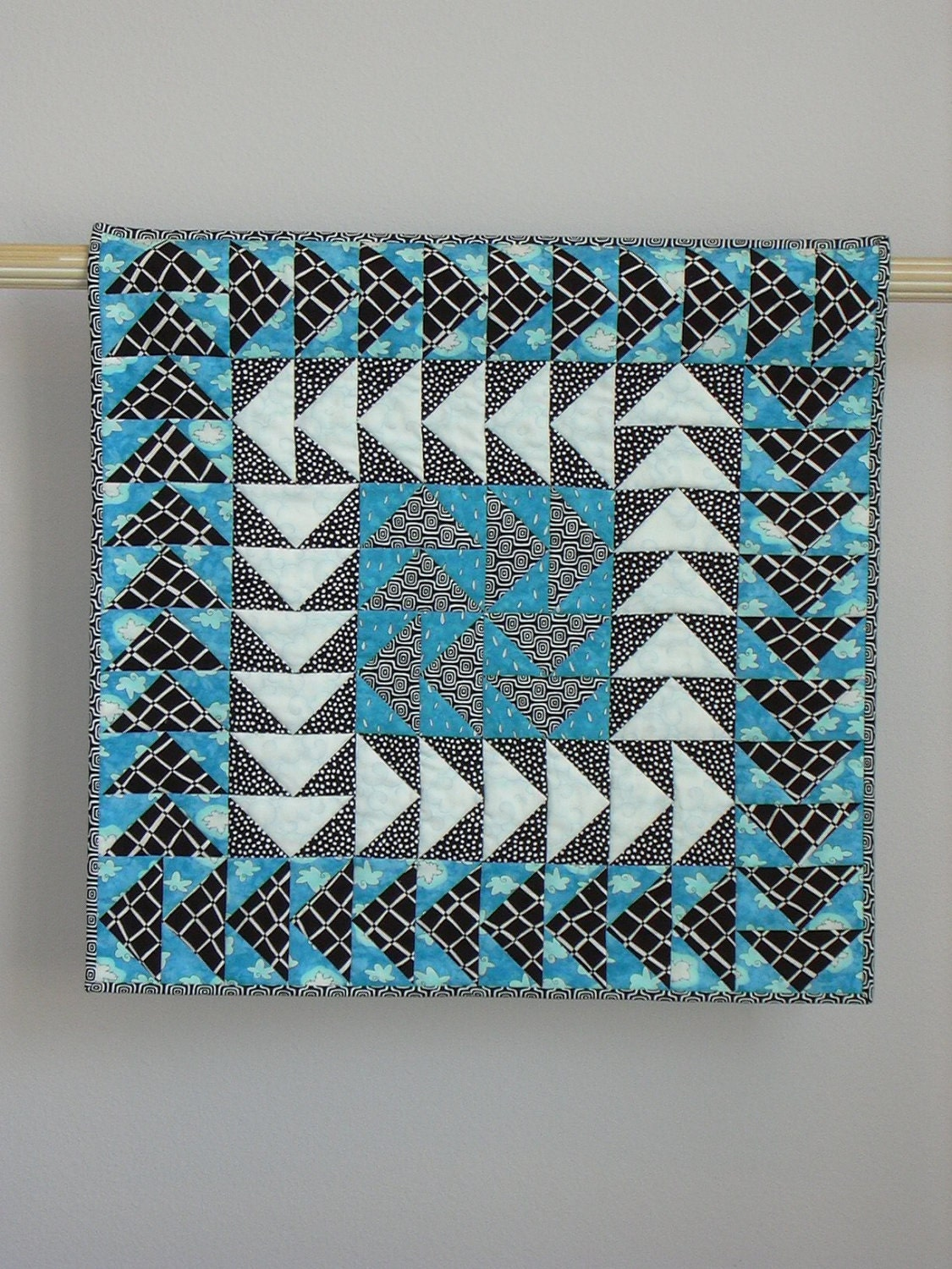 Weather Or Not wall quilt - tinacurran