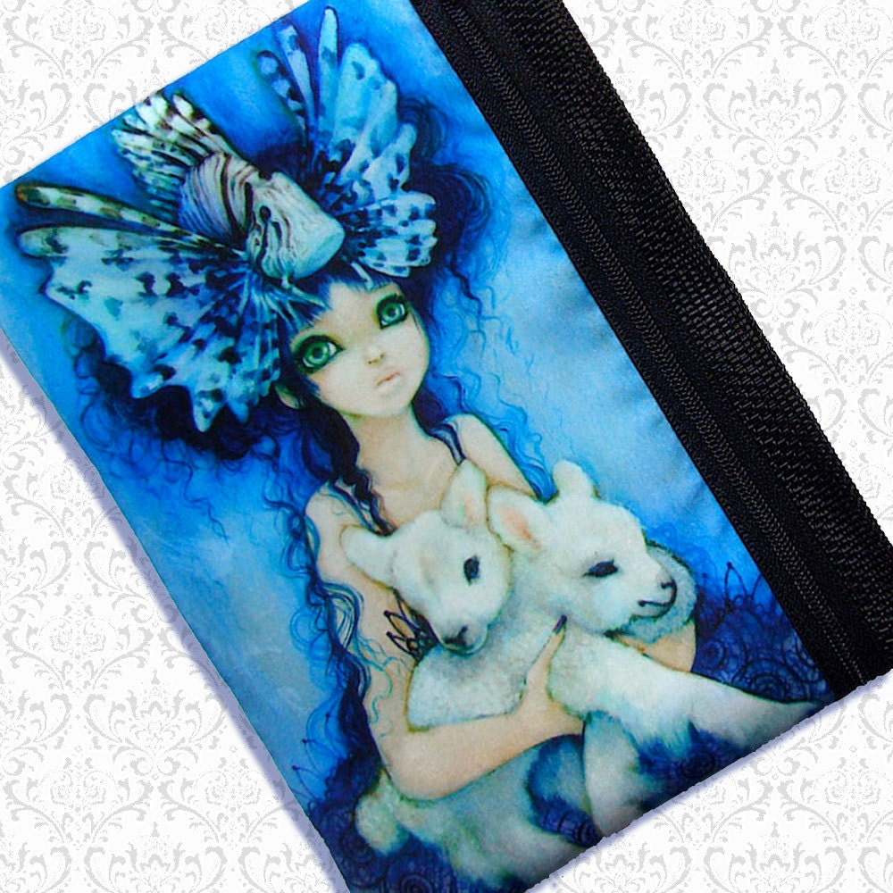 Lions and lambs pouch Camilla d'Errico